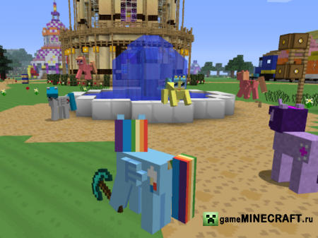 Mine Little Pony  [1.5.2] для Minecraft