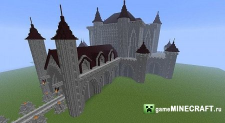 1.6.2 - Amazing Minecraft Cathedral для Minecraft