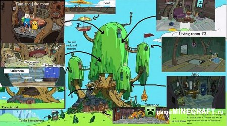ADVENTURE TIME TREE FORT