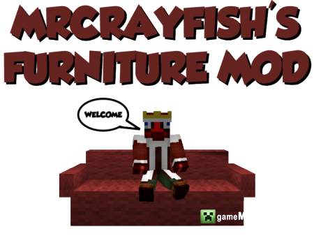 Мебели (MrCrayfish's Furniture Mod)  [1.6.4]