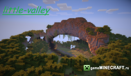 Little Valley (Маленькая долина) [1.7.2] для Minecraft