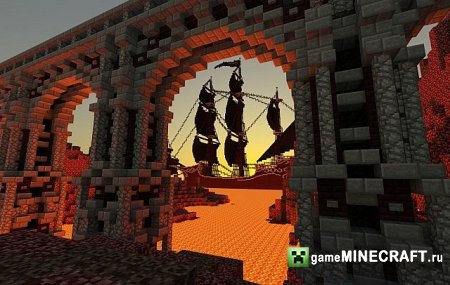 Nether Fortress - PMC Nether Contest  [1.7.2] для Minecraft