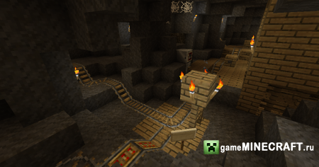 Caves of the Ancient [1.7.2] для Minecraft