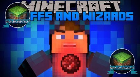 [1.7.4] Staffs and Wizards для Minecraft