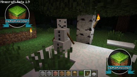 [1.7.4] Pumpkin-less Snow Golem