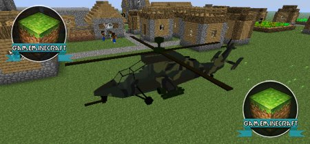 MC Helicopter Mod ��� Minecraft 1.7.4