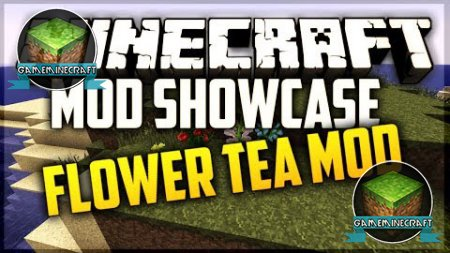 Flower Tea mod ��� Minecraft 1.7.4