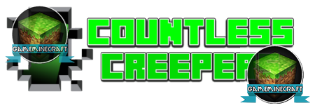 Countless Creepers [1.7.2] для Minecraft