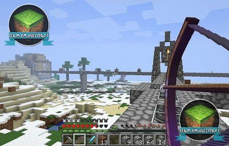 Minecraft Cartoon [1.7.10] для Minecraft