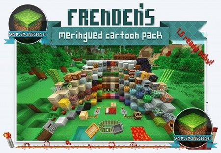 Frenden's Meringued Cartoon [1.7.10] для Minecraft