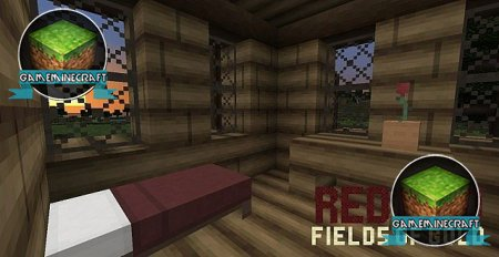 RedBird - Fields of Gold [1.7.10] для Minecraft