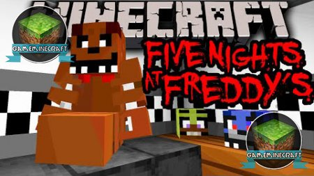 Five Nights at Freddy's [1.8] для Minecraft