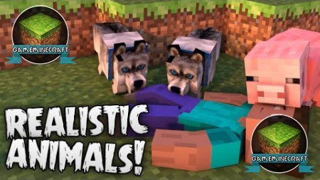 Hungry Animals [1.8] для Minecraft