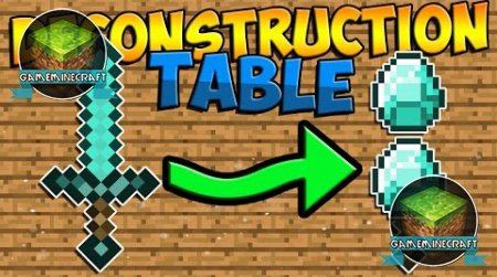 Deconstruction Table [1.8] для Minecraft