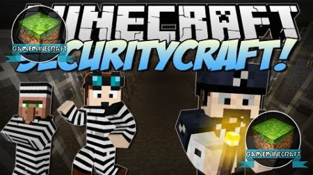 SecurityCraft [1.8] для Minecraft