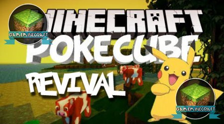 Pokecube Revival [1.8] для Minecraft
