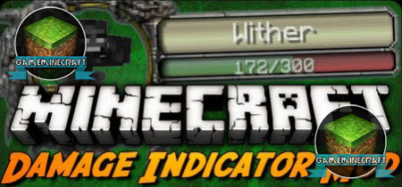 Damage Indicators [1.8.1] для Minecraft