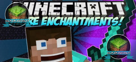 More Enchantments [1.8.1] для Minecraft