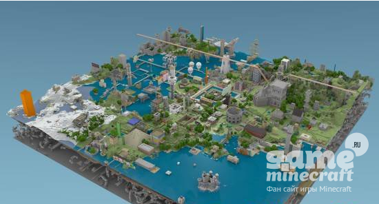 Future city v. 4. 1 [1. 8] › maps › mc-pc. Net — minecraft downloads.